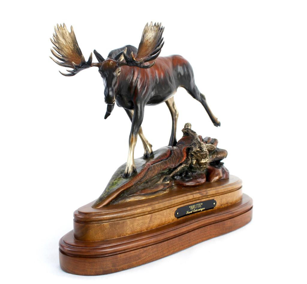 moose, bronze, limited edition, bronzes, Alaska Artist, Alaska Sculptor, Alaska Bronze, Alaska Bronze Art, Alaska, Art